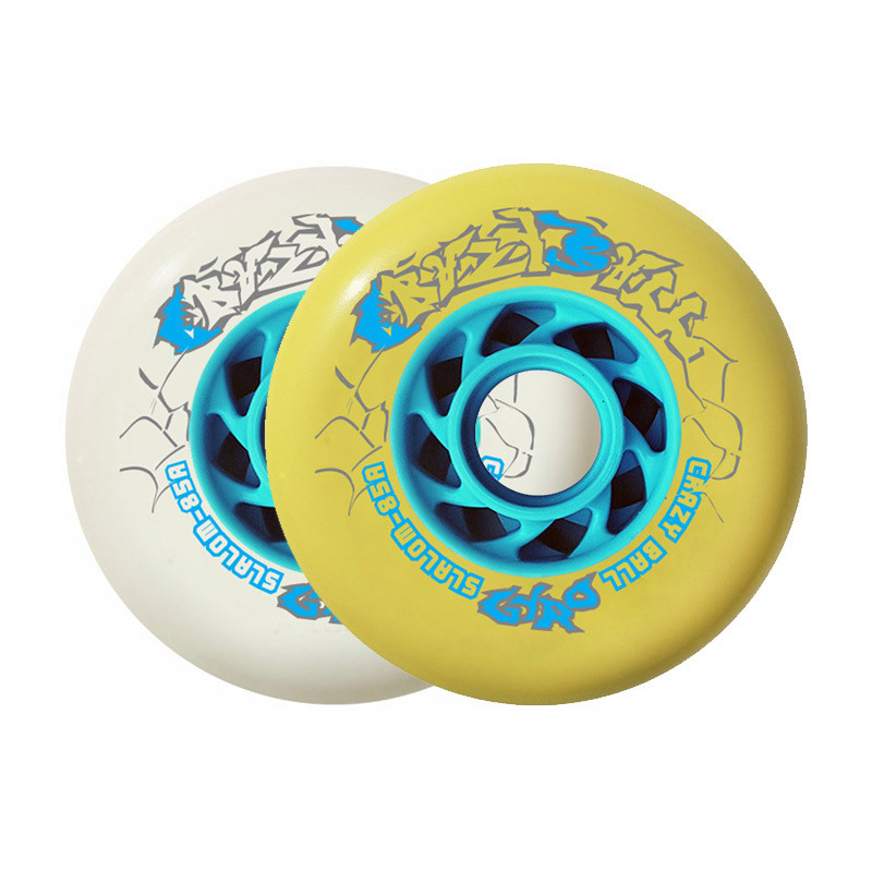 1 NEW - GYRO - CRAZY BALL WHEEL - 85A X1