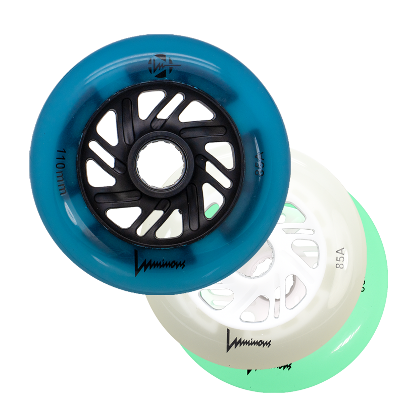 1 LUMINOUS - LED WHEEL - 100mm/85A - x1