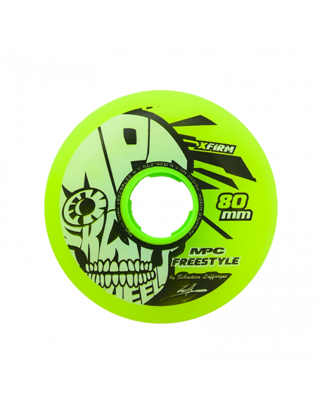 1 MPC - FREESTYLE WHEELS X-Firm - YELLOW x 1